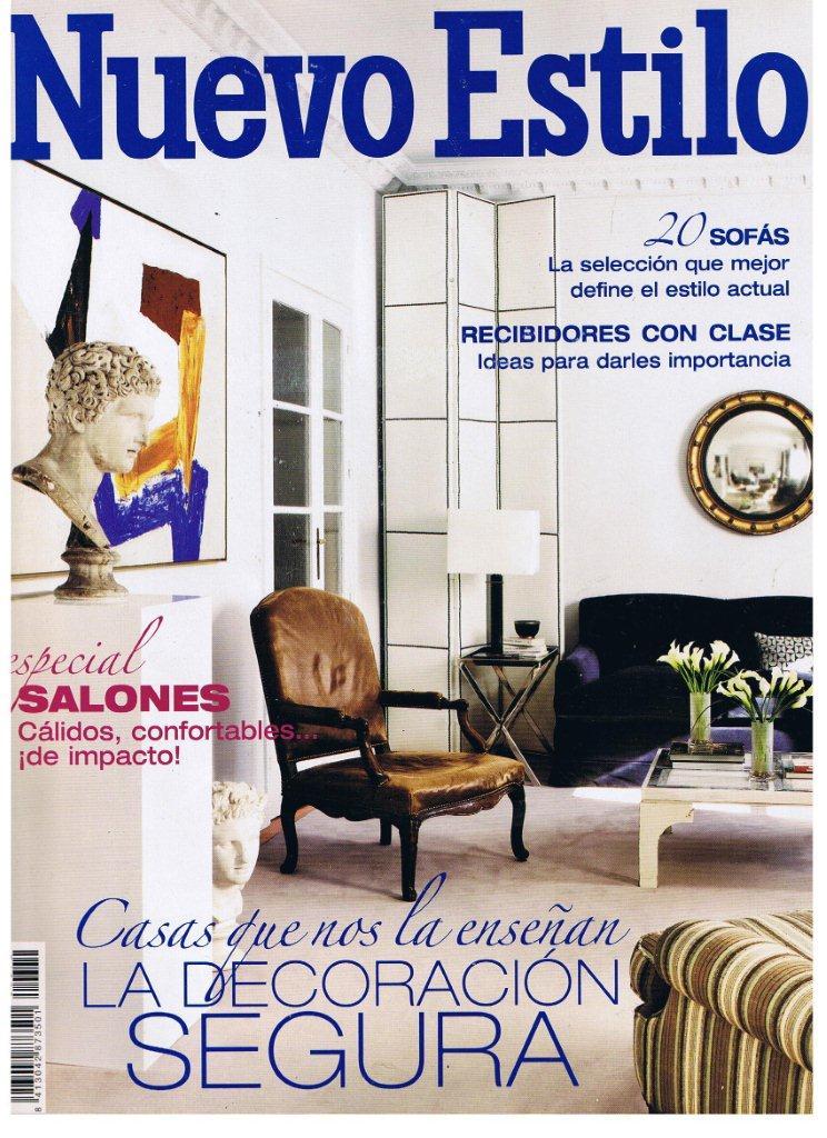 Salones nuevo estilo saln con paredes y techo de estilo - Salones nuevo estilo ...