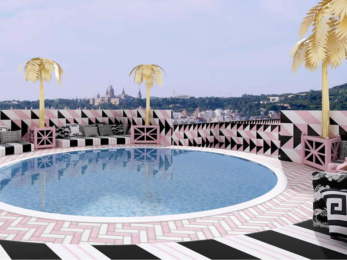 Hotel in barcelona lorenzo castillo - Lorenzo castillo decoracion ...